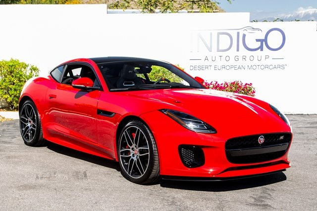 Jaguar F Type Coupe >> New 2020 Jaguar F Type Checkered Flag Le Coupe With Navigation