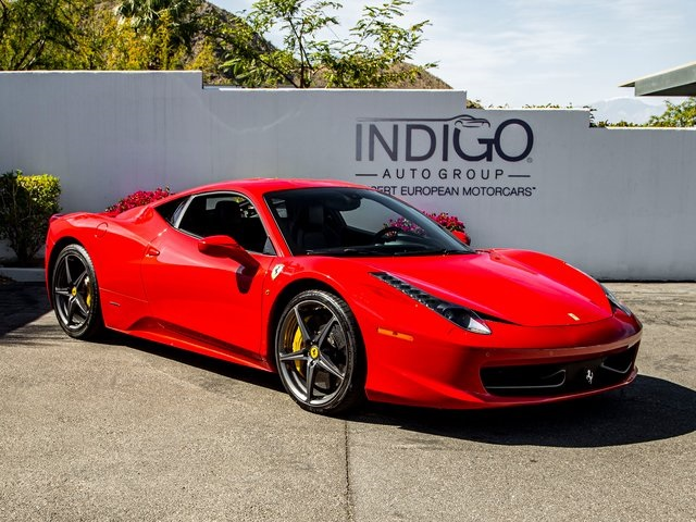 Pre-Owned 2014 Ferrari 458 Italia Base